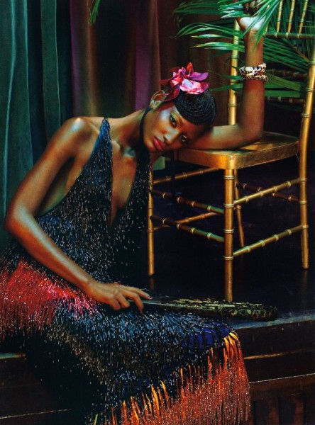 Black Allure Vogue Italia